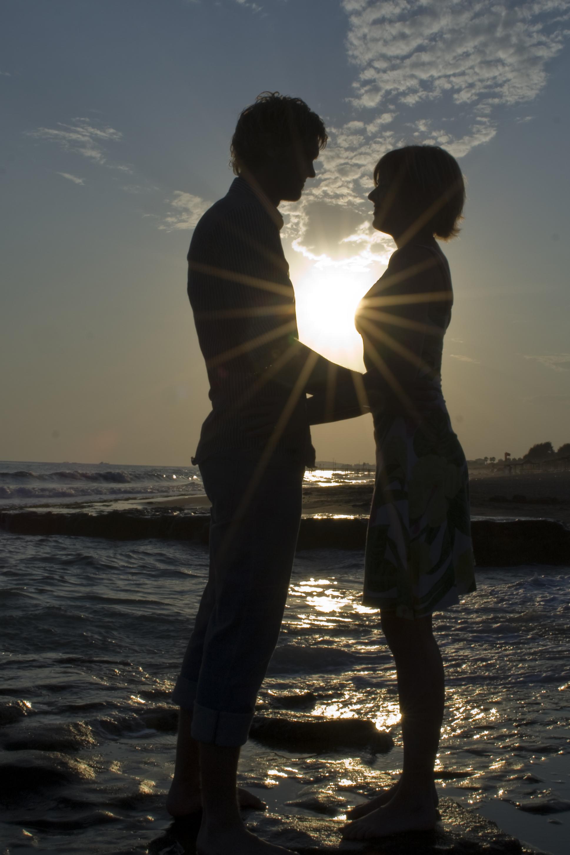 Henrik & Camilla at the beach Alanya